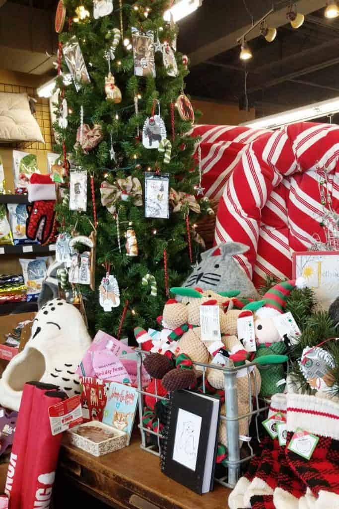 Christmas at Prairie Dog Mercantile on the South HIll of Spokane