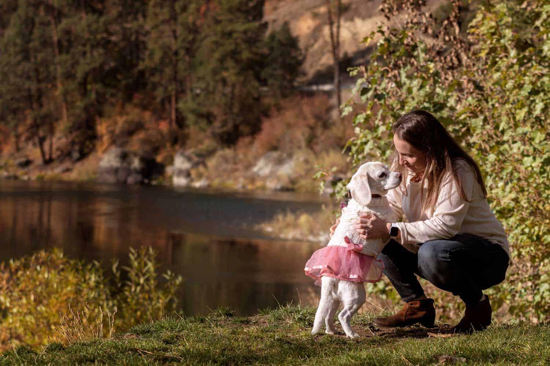 On the Spokane River at Plantes Ferry