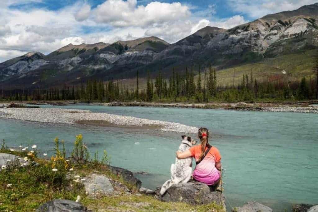 Newt and Cat at Kootenai River 1030x687 1