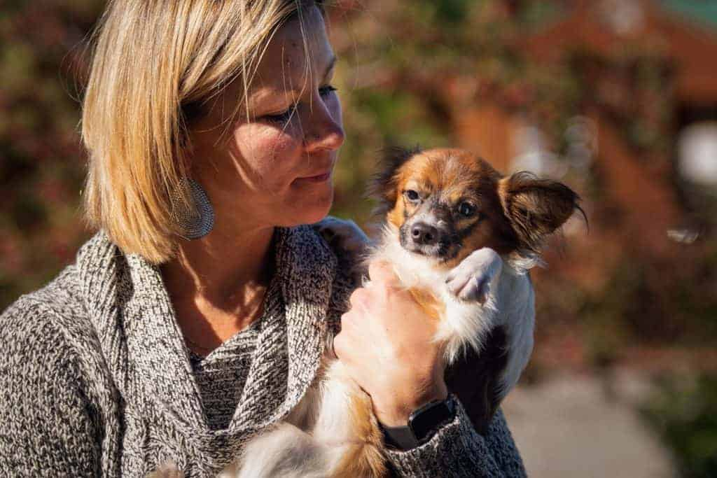Jolene, one of the founders of Heath's Haven, a place for specially abled rescue dogs of idaho